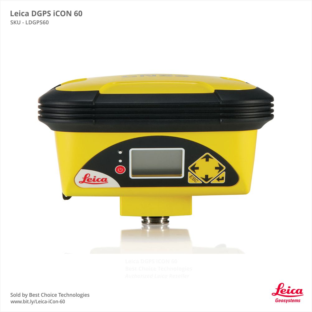 Leica DGPS GNSS iCON 60 For Surveying - Review Price in India